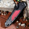 best PA36 Liner Lock Folding Knife with Semi-auto Open Design