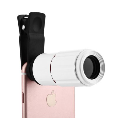 Portable 8 x 18 Optical Zoom Mobile Phone Telescope