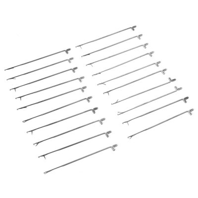 DIY 20PCS Latch Needle Crochet Hook Knitting Tool