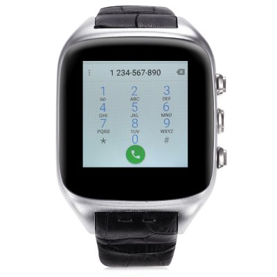 Ourtime X01S 3G Smartwatch PhoneSmart Watch Phone<br>Ourtime X01S 3G Smartwatch Phone<br><br>Additional Features: Waterproof, Bluetooth, Wi-Fi, People, Calendar, Alarm, Notification, MP3, GPS, 3G, 2G, Sound Recorder<br>Battery: 600mAh Built-in<br>Bluetooth: Yes<br>Bluetooth Version: V4.0<br>Brand: Ourtime<br>Camera type: Single camera<br>Cell Phone: 1<br>Charging Dock: 1<br>Compatible OS: Android<br>Cores: Dual Core, 1.3GHz<br>CPU: MTK6572<br>External Memory: TF card up to 32GB (not included)<br>Frequency: GSM 850/900/1800/1900MHz WCDMA 2100MHz<br>Front camera: 2.0MP<br>GPS: Yes<br>Languages: English, French, German, Ruassian, Greek, Turkish, Italian, Spanish, Portuguese, Hungarian, Hebrew, Arabic, Simplified / Traditional Chinese<br>Music format: AAC, AMR, MP3, OGG, WAV<br>Network type: GSM+WCDMA<br>OS: Android 5.1<br>Package size: 10.00 x 10.00 x 9.60 cm / 3.94 x 3.94 x 3.78 inches<br>Package weight: 0.3140 kg<br>Picture format: BMP, PNG, JPEG, GIF<br>Product size: 5.00 x 4.20 x 1.20 cm / 1.97 x 1.65 x 0.47 inches<br>Product weight: 0.0850 kg<br>RAM: 1G<br>ROM: 8GB<br>Screen resolution: 320 x 320<br>Screen size: 1.54 inch<br>Screen type: IPS<br>SIM Card Slot: Single SIM(Micro SIM slot)<br>SIM Needle: 1<br>Speaker: Supported<br>Support 3G : Yes<br>Type: Watch Phone<br>User Manual: 1<br>Video format: 3GP, FLV, MP4, RMVB<br>Wireless Connectivity: 3G, Bluetooth, GPS, GSM, WiFi
