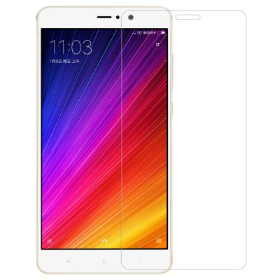 Nillkin Tempered Glass Protective Film for Xiaomi 5S PlusScreen Protectors<br>Nillkin Tempered Glass Protective Film for Xiaomi 5S Plus<br><br>Brand: Nillkin<br>Compatible Model: 5S Plus<br>Features: Ultra thin, High-definition, High Transparency, High sensitivity, Anti-oil, Anti scratch, Anti fingerprint<br>Mainly Compatible with: Xiaomi<br>Material: Tempered Glass<br>Package Contents: 1 x Screen Film, 1 x Auxiliary Installation Kit, 1 x Sheet<br>Package size (L x W x H): 21.20 x 12.50 x 2.30 cm / 8.35 x 4.92 x 0.91 inches<br>Package weight: 0.098 kg<br>Product Size(L x W x H): 14.90 x 7.10 x 0.02 cm / 5.87 x 2.8 x 0.01 inches<br>Product weight: 0.008 kg<br>Surface Hardness: 9H<br>Thickness: 0.2mm<br>Type: Screen Protector