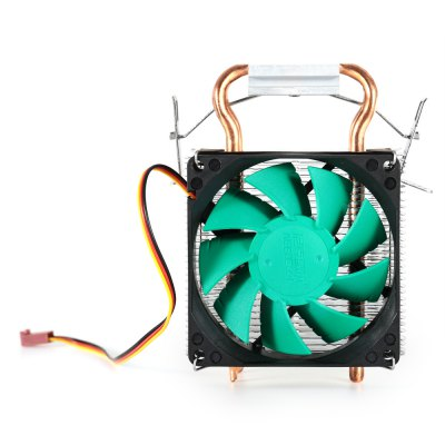 NEEDCOOL N5 Cooler Fan for DesktopCPU Cooler<br>NEEDCOOL N5 Cooler Fan for Desktop<br><br>Brand: NEEDCOOL<br>CFM: 35<br>Compatible: LGA1150, Inter LGA775, Inter LGA1366, Inter LGA1156, Inter LGA1155, Celeron D, AMD940, AMD939, AMD754, AMD FM1, AMD AM3, AMD AM2+, AMD AM2<br>Fan Pin: 3 pin<br>Mounting Hole Size: 1 x 2cm<br>Package Contents: 1 x NEEDCOOL N5 CPU Cooler Fan, 1 x Bracket, 4 x Black Pin, 4 x White Pin, 1 x Thermal Grease<br>Package size (L x W x H): 12.80 x 10.00 x 12.80 cm / 5.04 x 3.94 x 5.04 inches<br>Package weight: 0.3400 kg<br>Product weight: 0.2570 kg<br>Rated Voltage (V): 12V DC<br>Speed: 2000RPM<br>Type: Cooling Fan