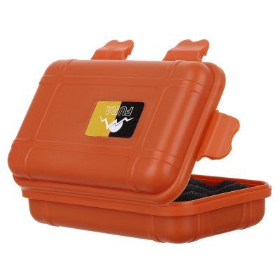FURA Sealed Storage CaseOther Camping Gadgets<br>FURA Sealed Storage Case<br><br>Brand: FURA<br>Color: Khaki,Orange<br>Package Contents: 1 x FURA Storage Case, 1 x Sticking Paper<br>Package Size(L x W x H): 15.00 x 11.00 x 6.00 cm / 5.91 x 4.33 x 2.36 inches<br>Package weight: 0.088 kg<br>Product Size  ( L x W x H ): 13.50 x 8.00 x 3.80 cm / 5.31 x 3.15 x 1.5 inches<br>Product weight: 0.056 kg<br>Type: Other Camping Gear