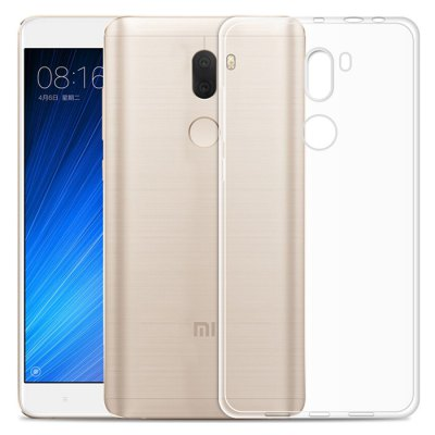 Luanke Transparent TPU Soft Phone Case for Xiaomi 5S Plus
