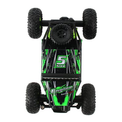 WLtoys 18428 - B 1:18 4WD RC Climbing Car - RTRRC Cars<br>WLtoys 18428 - B 1:18 4WD RC Climbing Car - RTR<br><br>Age: Above 8 years old<br>Brand: WLtoys<br>Car Power: Built-in rechargeable battery<br>Channel: 4-Channels<br>Detailed Control Distance: 80M<br>Drive Type: 4 WD<br>Features: Radio Control<br>Functions: Turn left/right, Forward/backward<br>Material: Electronic Components, Metal, Plastic<br>Motor Type: Brushed Motor<br>Package Contents: 1 x Car, 1 x Transmitter, 1 x Battery, 1 x Chinese-English Manual, 1 x USB Charging Cable, 1 x Screwdriver<br>Package size (L x W x H): 40.50 x 20.50 x 21.50 cm / 15.94 x 8.07 x 8.46 inches<br>Package weight: 1.3700 kg<br>Product size (L x W x H): 27.00 x 16.50 x 13.00 cm / 10.63 x 6.5 x 5.12 inches<br>Product weight: 0.4250 kg<br>Proportion: 1:18<br>Racing Time: 17~18mins<br>Remote Control: 2.4GHz Wireless Remote Control<br>Transmitter Power: 4 x 1.5V AA (not included)<br>Type: Crawler Car
