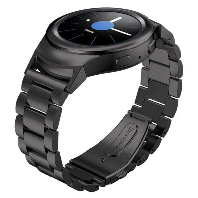 Three Bead Stainless Steel Smart Watch Band