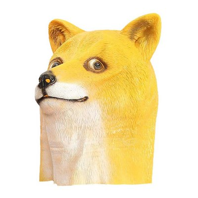 Internet Meme Doge Head MaskNovelty Toys<br>Internet Meme Doge Head Mask<br><br>Age: Above 14 years<br>Material: Latex<br>Package Contents: 1 x Mask<br>Package size (L x W x H): 40.00 x 20.00 x 10.00 cm / 15.75 x 7.87 x 3.94 inches<br>Package weight: 0.353 kg<br>Product weight: 0.020 kg<br>Type: Face Mask