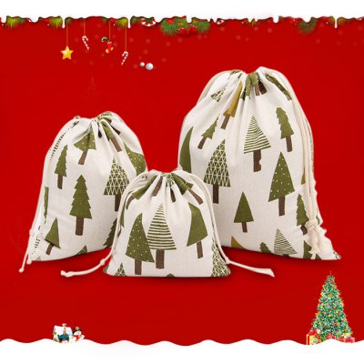 9PCS Christmas Tree Present Bags Festival Product
