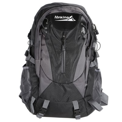 Water-resistant Nylon Mountaineering Backpack BagBackpacks<br>Water-resistant Nylon Mountaineering Backpack Bag<br><br>Bag Capacity: 35L<br>Capacity: 31 - 40L<br>For: Camping, Climbing, Hiking, Traveling<br>Material: Nylon<br>Package Contents: 1 x Backpack<br>Package size (L x W x H): 34.00 x 10.00 x 38.00 cm / 13.39 x 3.94 x 14.96 inches<br>Package weight: 0.630 kg<br>Product size (L x W x H): 34.00 x 17.00 x 51.00 cm / 13.39 x 6.69 x 20.08 inches<br>Product weight: 0.592 kg<br>Type: Backpack