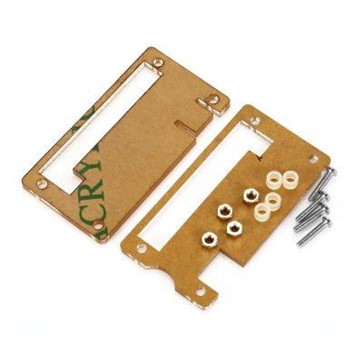 Protective Shell Acrylic Case for Raspberry Pi ZeroRaspberry Pi<br>Protective Shell Acrylic Case for Raspberry Pi Zero<br><br>Package Contents: 2 x Plate, 1 x Screw Pack<br>Package Size(L x W x H): 7.00 x 5.00 x 2.00 cm / 2.76 x 1.97 x 0.79 inches<br>Package weight: 0.035 kg<br>Product Size(L x W x H): 6.50 x 3.50 x 0.30 cm / 2.56 x 1.38 x 0.12 inches<br>Product weight: 0.014 kg<br>Type: Protective Acrylic Box for Raspberry Pi Zero