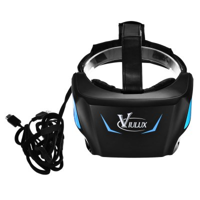 VIULUX V1 5.5 inch 1080P Virtual Reality 3D PC HeadsetPC Headset<br>VIULUX V1 5.5 inch 1080P Virtual Reality 3D PC Headset<br><br>Bluetooth: No<br>Compatible with: Computer<br>Connecting interface: 3.5mm<br>Features: Interactive<br>Focus Adjustment: Yes<br>FOV: 110 degrees<br>FOV Range: 90 - 110 degree<br>FPS (frame per second): 75Hz<br>Material: ABS, PU Leather<br>Model: V1<br>Package Contents: 1 x VIULUX V1 VR 3D PC Headset, 1 x Headband<br>Package size (L x W x H): 24.50 x 24.50 x 13.00 cm / 9.65 x 9.65 x 5.12 inches<br>Package weight: 1.200 kg<br>Product size (L x W x H): 21.00 x 11.20 x 10.00 cm / 8.27 x 4.41 x 3.94 inches<br>Product weight: 0.560 kg<br>Refraction Compensation (Degrees): 0 - 400 degree<br>Screen: LCD<br>Space for Glasses: Yes<br>VR Glasses Type: PC Headset