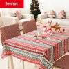 Senhot Christmas Festival Table Cloth