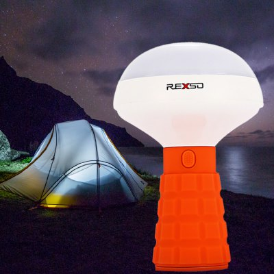 REXSO R1 Rechargeable LED Camping Light with Red Alert Function