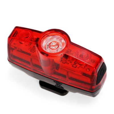 LEADBIKE A117 Bike Tail LightBike Lights<br>LEADBIKE A117 Bike Tail Light<br><br>Brand: LEADBIKE<br>Color: Red<br>Features: Superbright, Low Power Consumption, Easy to Install<br>LED Quantity: 3<br>Luminance: 16LUX<br>Material: ABS<br>Model Number: A117<br>Package Contents: 1 x LEADBIKE A117 Bike Tail Light, 1 x USB Cable, 1 x Mount Bracket<br>Package Dimension: 9.00 x 8.00 x 4.00 cm / 3.54 x 3.15 x 1.57 inches<br>Placement: Saddle Tube<br>Product Dimension: 5.00 x 1.50 x 3.30 cm / 1.97 x 0.59 x 1.3 inches<br>Product weight: 0.020 kg<br>Suitable for: Mountain Bicycle, Touring Bicycle, Road Bike<br>Type: Tail Light