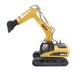 HUINA 1550 1:12 2.4GHz 15CH RC Alloy Excavator - RTR