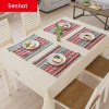 Senhot Christmas Dinner Napkin Table Cloth