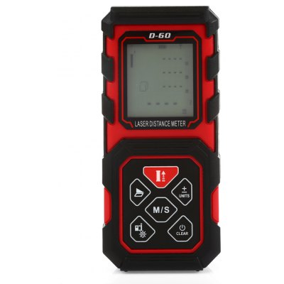 D - 60 60m IP54 Digital Handheld Laser Distance Meter