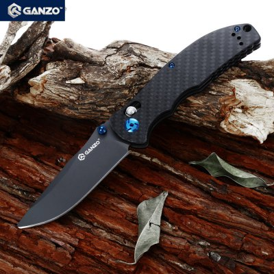 Ganzo G7503 - CF Folding KnifePocket Knives and Folding Knives<br>Ganzo G7503 - CF Folding Knife<br><br>Blade Length: 9cm<br>Blade Length Range: 5cm-10cm<br>Blade Material: 440C stainless steel<br>Blade Width : 3cm<br>Brand: GANZO<br>Clip Length: 6.5cm<br>For: Hiking, Camping, Home use<br>Handle Material: Carbon fiber<br>Lock Type: Axis Lock<br>Package Contents: 1 x Ganzo G7503 - CF Knife, 1 x Pouch<br>Package size (L x W x H): 13.50 x 5.20 x 3.00 cm / 5.31 x 2.05 x 1.18 inches<br>Package weight: 0.198 kg<br>Product size (L x W x H): 21.50 x 3.50 x 1.70 cm / 8.46 x 1.38 x 0.67 inches<br>Product weight: 0.132 kg<br>Unfold Length: 21.5cm