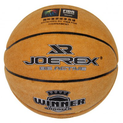 JOEREX JBA10314 No.7 Cow Leather Basketball