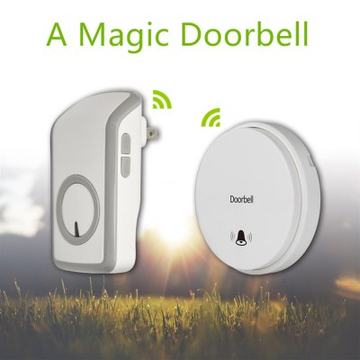 Battery - Free SIM1010 - DBV1 Self-powered Wireless Remote Control Doorbell