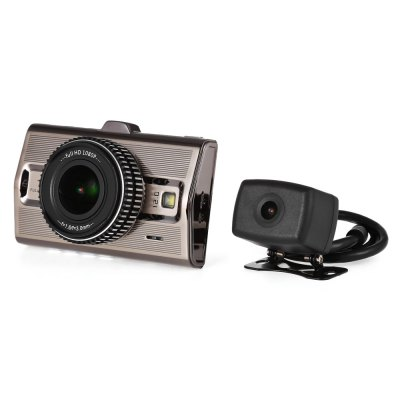 M9S Car DVR Dual 1080P Full HD CamerasCar DVR<br>M9S Car DVR Dual 1080P Full HD Cameras<br><br>Chipset: Novatek 96663<br>Image Sensor: CMOS<br>Max External Card Supported: TF 128G (not included)<br>Screen size: 3.0inch<br>Screen type: LCD<br>Screen resolution: 960 x 240<br>Battery Type: Built-in<br>Battery Capacity (mAh?: 330mAh<br>Working Time: 1H<br>Working Voltage: DC 5V 2A<br>Wide Angle: 170 degree wide angle<br>Camera Lens : 170 degree ( front ), 140 degree ( back )<br>Lens Size: Diameter 2.5cm<br>Decode Format: H.264<br>Video format: MP4<br>Video Resolution: 1080P (1920 x 1080),1440 x 1080,720P (1280 x 720)<br>Video Frame Rate: 60fp/s, 30fp/s<br>Video Output : AV-Out<br>Image Format : JPEG<br>Image resolution: 3M (2048 x 1536)<br>Audio System: Built-in microphone/speacker (AAC)<br>Waterproof: No<br>Waterproof Rating : No<br>Loop-cycle Recording : Yes<br>Loop-cycle Recording Time: 10min,3min,5min<br>Motion Detection Distance: 3M<br>Night vision : No<br>Night Vision Distance: No<br>GPS: Yes<br>Anti-shake: Yes<br>Language: English,French,German,Italian,Japanese,Portuguese,Russian,Simplified Chinese,Spanish,Traditional Chinese<br>Parking Monitoring: Yes<br>Operating Temp.: 0 - 60 Deg.C<br>Power Cable Length: 3M<br>Product weight: 0.459 kg<br>Package weight: 0.750 kg<br>Package size (L x W x H): 18.80 x 13.70 x 7.80 cm / 7.4 x 5.39 x 3.07 inches<br>Package Contents: 1 x Car DVR, 1 x Rearview Camera, 1 x Sucker Cup Mount, 1 x USB Cable, 1 x Car Charger, 1 x Bracket, 1 x Sticker, 2 x Screw, 1 x Cable, 1 x User Manual ( English and Chinese )