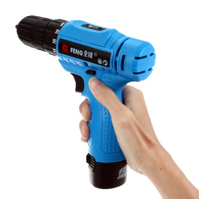 FENG E10S 12V Rechargeable Li-ion Battery Electric Screwdriver