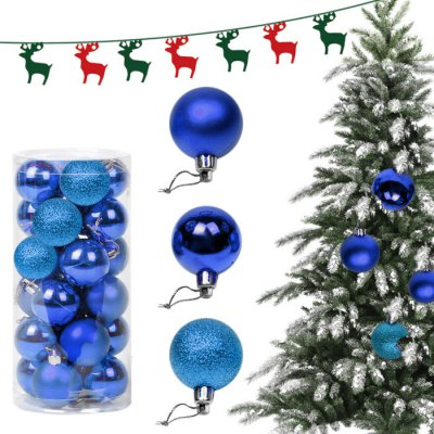 24PCS Christmas Tree Decorative Balls
