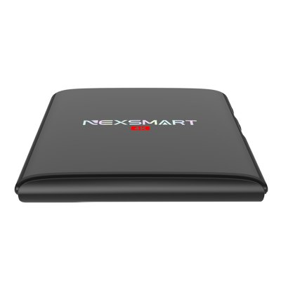 NEXSMART D32 TV BoxTV Box<br>NEXSMART D32 TV Box<br><br>5G WiFi: No<br>Audio format: MP3, WMA, DDP, AAC<br>Bluetooth: Unsupport<br>Brand: NEXSMART<br>Color: Black<br>Core: 1.5GHz<br>CPU: RK3229<br>Decoder Format: H.265<br>DVD Support: No<br>External Subtitle Supported: Yes<br>GPU: Mali-400 MP<br>HDMI Function: CEC<br>HDMI Version: 2.0<br>Interface: USB2.0, AV, TF card, HDMI, LAN, DC Power Port, SPDIF<br>Language: Multi-language<br>Maximum External Hard Drives Capacity: 1TB<br>Model: D32<br>Other Functions: 3D Games, External Subtitle, PAL, NTSC, Miracast, ISO Files, 3D Video, DLNA<br>Package Contents: 1 x NEXSMART D32 TV Box, 1 x Power Adapter, 1 x Remote Control, 1 x HDMI Cable, 1 x English Manual<br>Package size (L x W x H): 19.20 x 15.60 x 5.80 cm / 7.56 x 6.14 x 2.28 inches<br>Package weight: 0.3700 kg<br>Photo Format: BMP, GIF, JPEG, JPG, TIFF, PNG<br>Power Comsumption: 10W<br>Power Input Vol: 5V<br>Power Supply: Charge Adapter<br>Power Type: External Power Adapter Mode<br>Product size (L x W x H): 10.60 x 9.80 x 2.70 cm / 4.17 x 3.86 x 1.06 inches<br>Product weight: 0.1500 kg<br>RAM: 1G<br>RAM Type: DDR3<br>Remote Controller Battery: 2 x AAA Batteries<br>RJ45 Port Speed: 10M / 100M<br>ROM: 8G<br>Support 5.1 Surround Sound Output: Yes<br>System: Android 5.1<br>System Bit: 32Bit<br>TV Box Features: 5.1 Surround Sound Output<br>Type: TV Box<br>Video format: 1080P<br>WiFi Chip: RTL8189