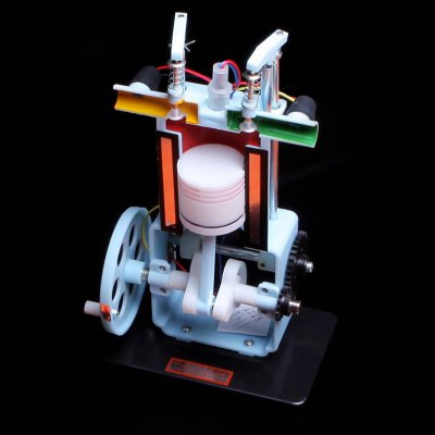 Gasoline Engine Model Experimental DeviceScience &amp; Discovery Toys<br>Gasoline Engine Model Experimental Device<br><br>Completeness: Semi-finished Product<br>Gender: Unisex<br>Materials: Metal, Other, Plastic<br>Package Contents: 1 x Gasoline Engine Model Toy<br>Package size: 20.00 x 15.00 x 32.00 cm / 7.87 x 5.91 x 12.6 inches<br>Package weight: 0.7320 kg<br>Product size: 18.50 x 12.00 x 30.00 cm / 7.28 x 4.72 x 11.81 inches<br>Product weight: 0.4000 kg<br>Stem From: China<br>Theme: Science