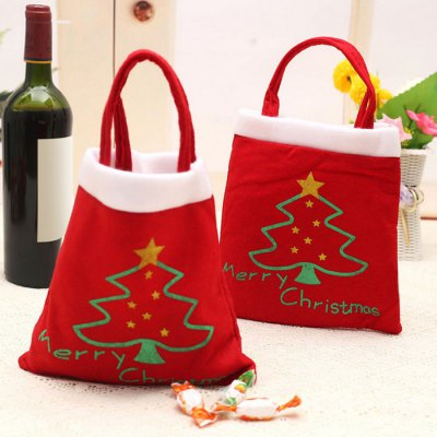 12PCS Christmas Cartoon Candy Bags