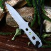 4pcs 440C Stainless Steel Fixed Blade Knife with Storage Bag deal
