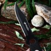 4pcs Stainless Steel Fixed Blade Knife with Storage Bag deal