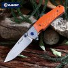 cheap Ganzo G7492 - OR Frame Locking Pocket Knife with G10 Handle