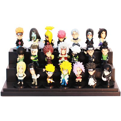 1.96 inch PVC + ABS Static Action Figure - 21pcs / set