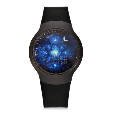 Jijia Fashion LED Touch Screen WatchLED Watches<br>Jijia Fashion LED Touch Screen Watch<br><br>Brand: Jijia<br>People: Female table,Male table<br>Watch style: Fashion<br>Available color: Black,Blue,Pink,White<br>Movement type: Digital watch<br>Shape of the dial: Round<br>Display type: Digital<br>Hour formats: 12 Hour<br>Case material: Alloy<br>Band material: Silicone<br>Special features: Date<br>Water resistance : 30 meters<br>Dial size: 4 x 4 x 1 cm / 1.57 x 1.57 x 0.39 inches<br>Band size: 26 x 2 cm / 10.24 x 0.79 inches<br>Wearable length: 17.5 - 22.5 cm / 6.89 - 8.86 inches<br>Product weight: 0.056 kg<br>Package weight: 0.116 kg<br>Product size (L x W x H): 26.00 x 4.00 x 1.00 cm / 10.24 x 1.57 x 0.39 inches<br>Package size (L x W x H): 8.60 x 8.00 x 5.30 cm / 3.39 x 3.15 x 2.09 inches<br>Package Contents: 1 x Jijia LED Touch Screen Watch, 1 x Box