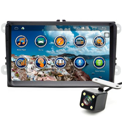Junsun SFT - 9VW 9.0 inch DVD Player with Rearview Camera