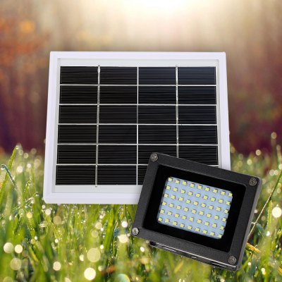 Solar Rechargeable LED Flood Light Outdoor Landscape Security Lighting