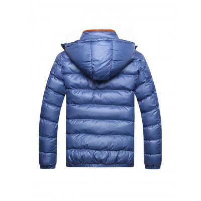 Zipper Contrast Slim Fit Quilted Jacket Colorado Springs Продажа вещей