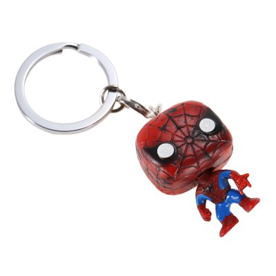 Alloy + PVC Key Chain Decor - 1.57 inchKey Chains<br>Alloy + PVC Key Chain Decor - 1.57 inch<br><br>Design Style: Fashion<br>Gender: Unisex<br>Materials: Alloy, PVC<br>Package Contents: 1 x Key Chain<br>Package size: 10.00 x 5.00 x 5.00 cm / 3.94 x 1.97 x 1.97 inches<br>Package weight: 0.018 kg<br>Product size: 4.00 x 2.50 x 2.00 cm / 1.57 x 0.98 x 0.79 inches<br>Product weight: 0.010 kg<br>Stem From: Europe and America<br>Theme: Movie and TV