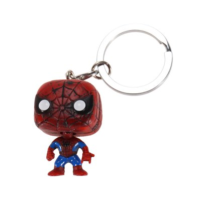 Alloy + PVC Key Chain Decor - 1.57 inch