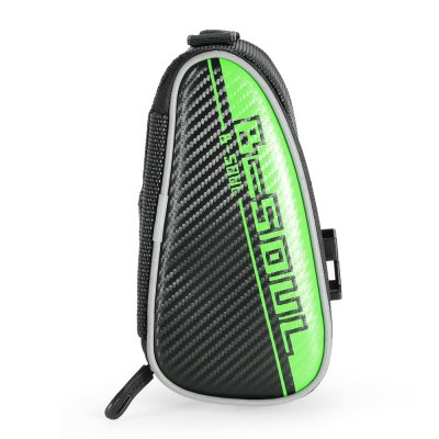 B - SOUL YA151 0.75L Reflective Bicycle Saddle BagBike Bags<br>B - SOUL YA151 0.75L Reflective Bicycle Saddle Bag<br><br>Brand: B-SOUL<br>Emplacement: Saddle<br>For: Unisex<br>Material: PVC, PU, Oxford Fabric<br>Model Number: YA151<br>Package Contents: 1 x B - SOUL YA151 Bicycle Saddle Bag, 1 x Pack of Installation Accessories<br>Package Dimension: 32.00 x 20.00 x 10.00 cm / 12.6 x 7.87 x 3.94 inches<br>Package weight: 0.220 kg<br>Product Dimension: 18.00 x 10.50 x 9.00 cm / 7.09 x 4.13 x 3.54 inches<br>Product weight: 0.181 kg<br>Suitable for: Touring Bicycle, Road Bike, Mountain Bicycle