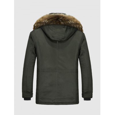 Men Drawstring Waist Winter JacketMens Jackets &amp; Coats<br>Men Drawstring Waist Winter Jacket<br><br>Closure Type: Zipper<br>Clothes Type: Jackets<br>Collar: Stand-Up Collar<br>Colors: Army green,Khaki<br>Embellishment: Others<br>Materials: Polyester<br>Package Content: 1 x Men Jacket<br>Package Dimension: 40.00 x 30.00 x 7.00 cm / 15.75 x 11.81 x 2.76 inches<br>Package weight: 1.230 kg<br>Pattern Type: Solid<br>Product weight: 1.000 kg<br>Seasons: Autumn,Winter<br>Shirt Length: Long<br>Size1: 2XL,3XL,4XL,L,M,XL<br>Sleeve Length: Long Sleeves<br>Style: Fashion<br>Thickness: Thickening