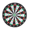 JOEREX JD6082 15 inch Flocked Dartboard Set