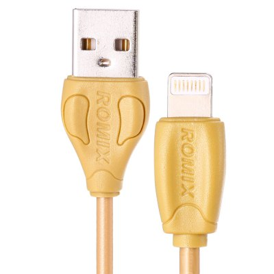 ROMIX RS121 1m 8 Pin USB Data Transfer Charging Cable