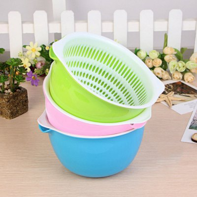 SUMSHUN Vegetable Fruit Strainer Storage Basket