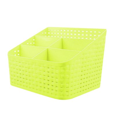 SUMSHUN Weave Cosmetic Storage Box CaseStorage Boxes &amp; Bins<br>SUMSHUN Weave Cosmetic Storage Box Case<br><br> Product weight: 0.190 kg<br>Available Color: Blue,Green,Pink<br>Brand: SUMSHUN<br>Materials: PP<br>Package Contents: 1 x Storage Box<br>Package Size(L x W x H): 20.50 x 15.50 x 14.80 cm / 8.07 x 6.1 x 5.83 inches<br>Package weight: 0.325 kg<br>Product Size(L x W x H): 18.00 x 14.00 x 13.80 cm / 7.09 x 5.51 x 5.43 inches