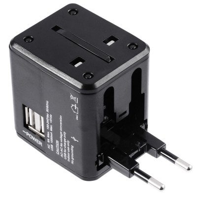 Multination Travel Power Adapter Wall Charger