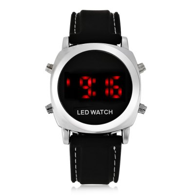 Round LED Sports Watch
