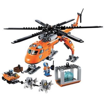 Educational Helicopter Theme Kid Toy - 273pcs
