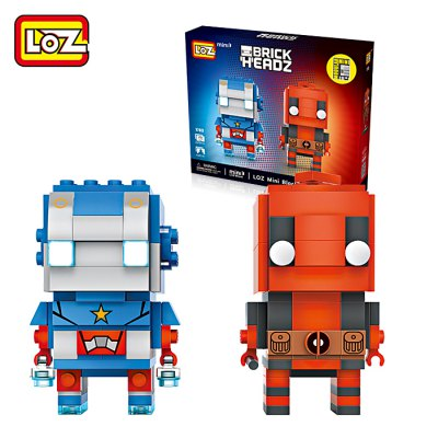 LOZ Figure Style ABS Cartoon Building Brick - 225pcs